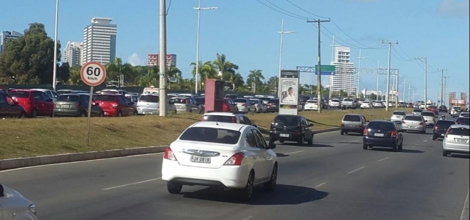 [Obra termina, mas trânsito continua congestionado na Orla de Salvador]