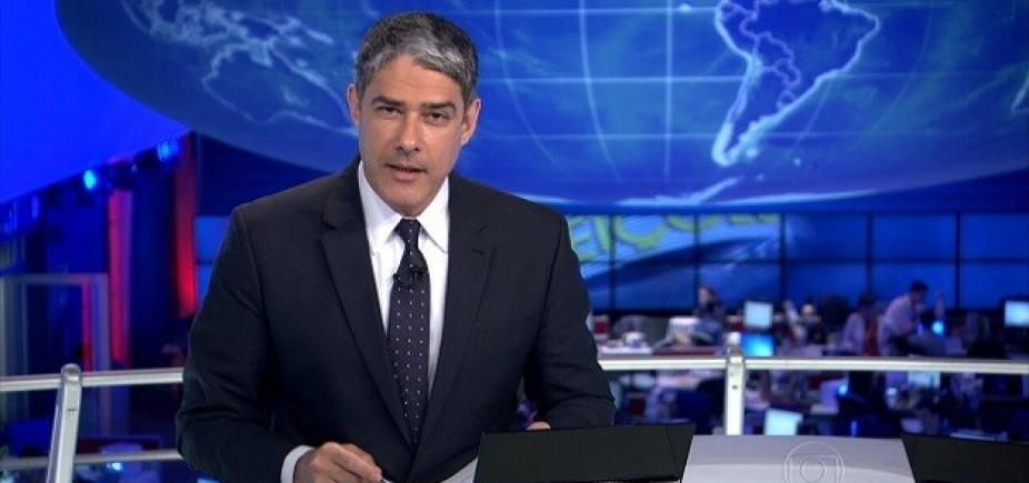 [Bonner quebra o pé e se afasta do Jornal Nacional por três dias: