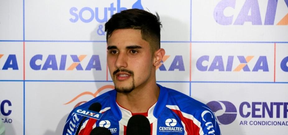 [Bahia acerta empréstimo de zagueiro do Palmeiras até o fim do ano]