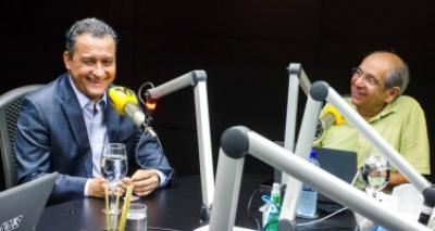 Mário Kertész recebe Rui Costa no Jornal da Bahia no Ar desta segunda-feira