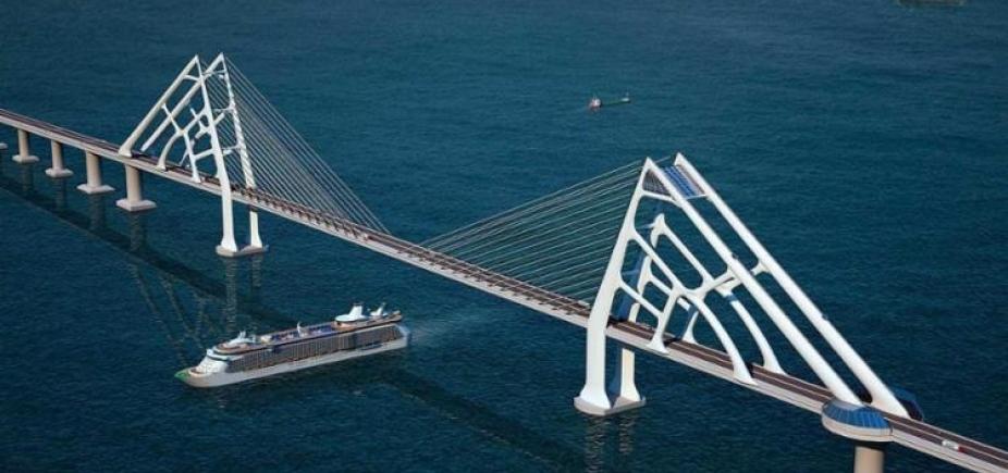 """[Túnel pode substituir Ponte Salvador/Itaparica: """"Tem essa possibilidade""""]"""
