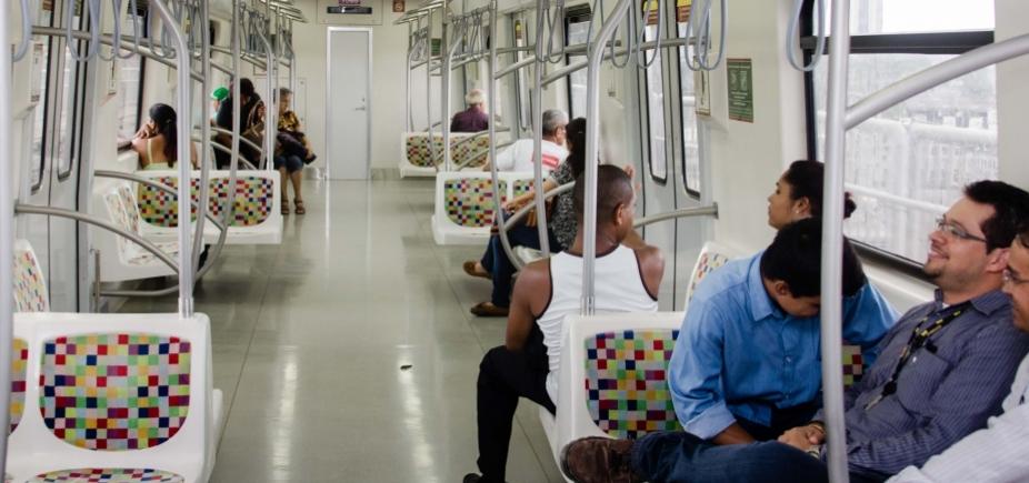 [Com quatro novas estações, metrô deve transportar 200 mil passageiros por dia]