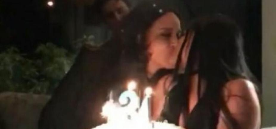 [Ana Carolina faz aniversário e recebe declaração de amor de Letícia Lima: