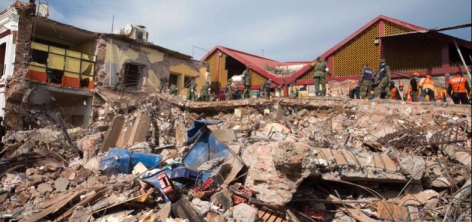 [Sobe para 96 o número de mortos em terremoto no México]
