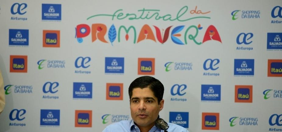 [Prefeitura divulga programação do Festival da Primavera de 2017; custo será em torno de R$ 1 milhão]