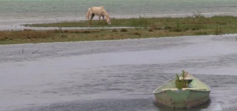 [Após longo período de estiagem, nível da barragem de Sobradinho chega a 6,66%]