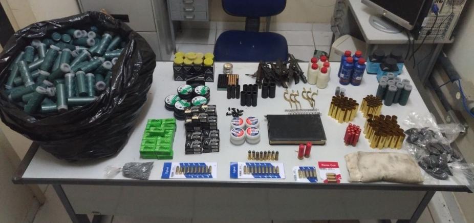 [Comerciante é preso vendendo munições ilegalmente em Milagres]