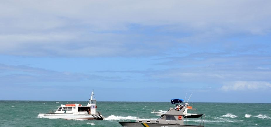 [Marinha diz que inquérito será aberto para apurar incidente em Catamarã]