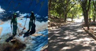 Após denúncia da Metrópole, Limpurb retira sujeira de pista de skate no Parque da Cidade