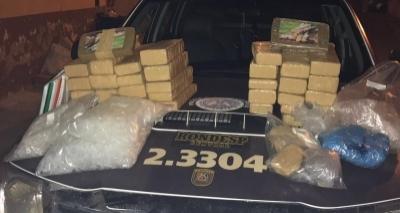 Rondesp Central apreende 40 kg de drogas em Campinas de Pirajá