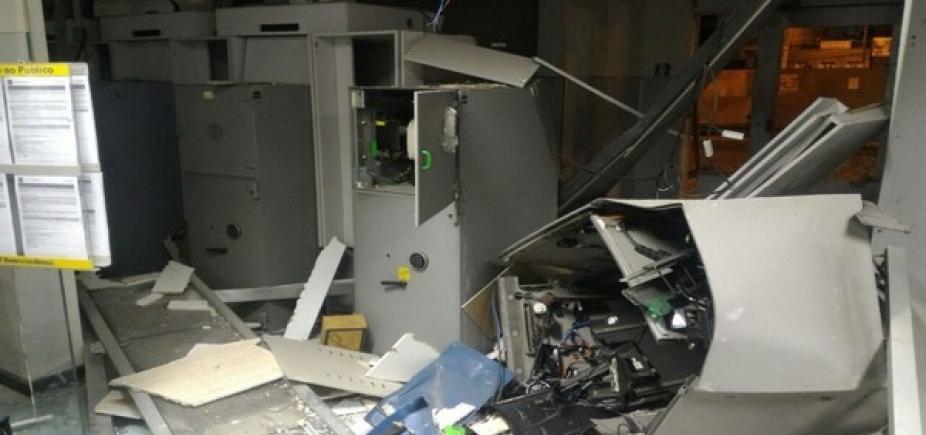 [Bahia já tem 61 caixas eletrônicos explodidos em 2017, diz SSP]