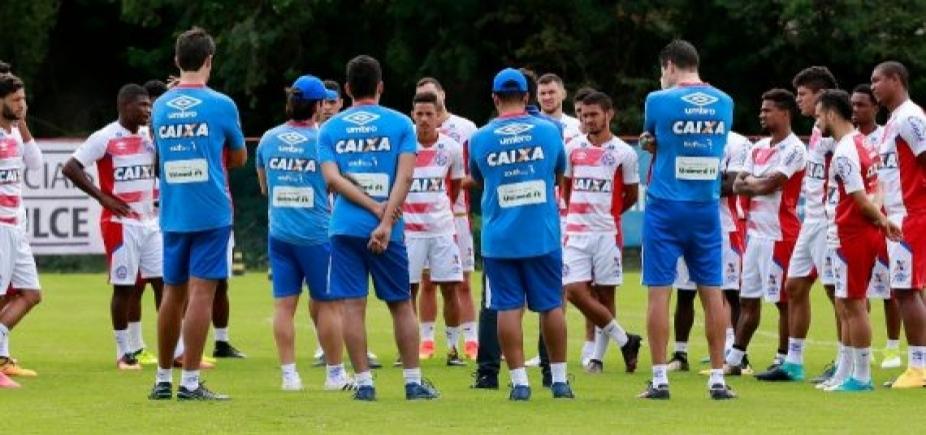 [Bahia tem quatro desfalques por lesão para enfrentar o Cruzeiro]