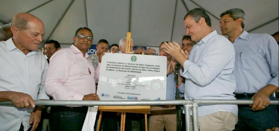 [Em Jeremoabo, Rui entrega unidade da Rede SAC que vai beneficiar 150 mil baianos]
