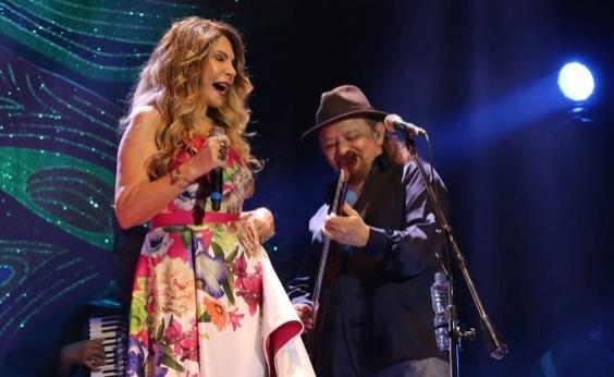 """Elba Ramalho e Geraldo Azevedo apresentam o show """"Um Encontro Inesquecível"""" neste sábado; veja"""