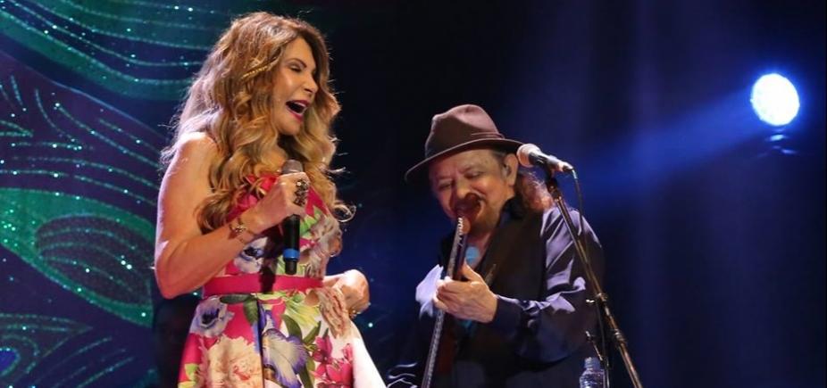"""[Elba Ramalho e Geraldo Azevedo apresentam o show """"Um Encontro Inesquecível"""" neste sábado; veja]"""