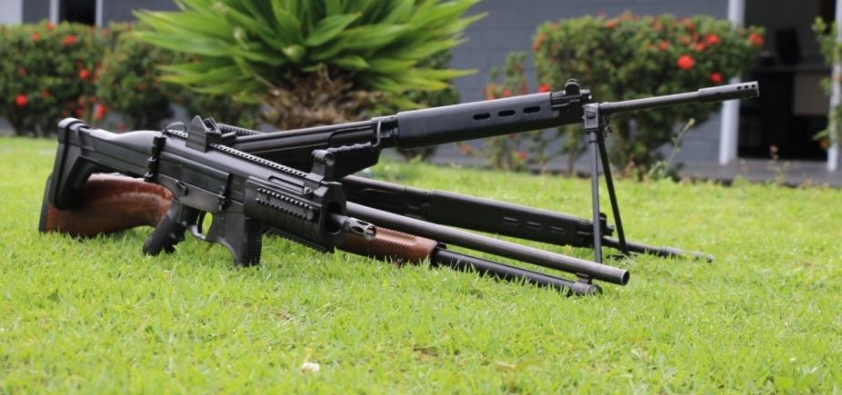 [Cresce número de armas apreendidas com quadrilhas de roubo a banco na Bahia]