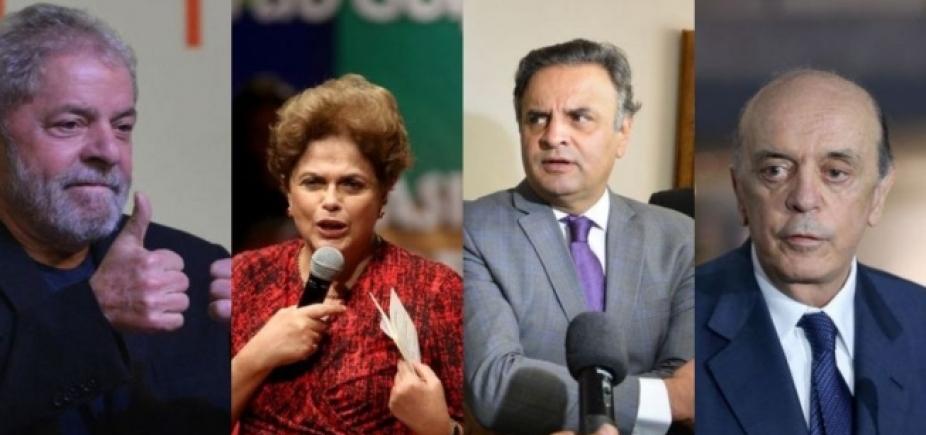 [Delação da OAS atinge Lula, Aécio, Dilma, Serra e aliados de Temer, diz jornal]