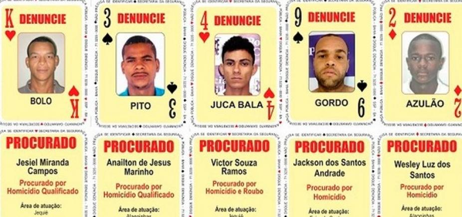 [Baralho do Crime tem cinco novos procurados na Bahia; confira nomes]