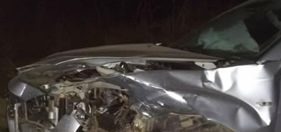 [Colisão entre carros deixa dois feridos na BR-135, entre São Desidério e Barreiras]