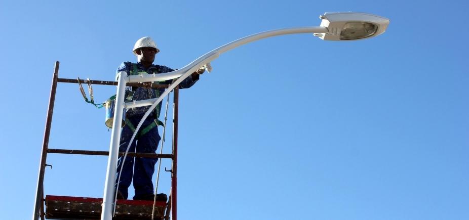 """[Para prefeitura, falta de iluminação em Salvador é """"problema pontual""""; população discorda]"""
