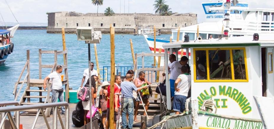 [Suspensa por maré baixa, travessia Salvador-Mar Grande retorna às 10h30]
