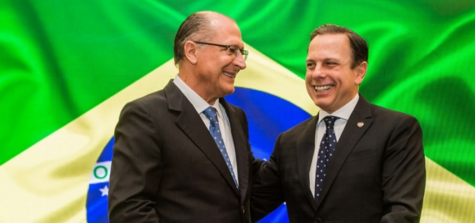 """[Doria diz que """"só orixás"""" sabem de 2018, mas garante que não quer """"ferir"""" Alckmin]"""