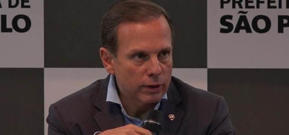 [Sobre aliança com Michel Temer, João Doria responde: \