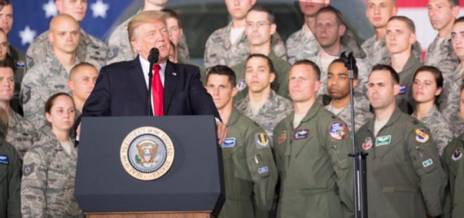 [Em discurso na ONU, Trump diz que vai