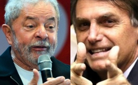 Lula e Bolsonaro lideram intenções de votos para eleições em 2018, diz pesquisa