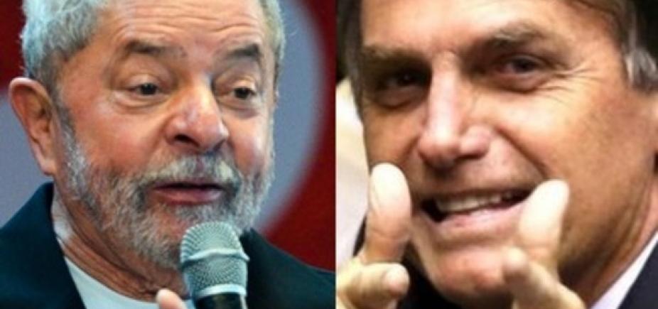[Lula e Bolsonaro lideram intenções de votos para eleições em 2018, diz pesquisa]