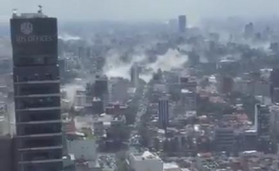 Terremoto causa destruição e deixa pelo menos 42 mortos no México; veja vídeos
