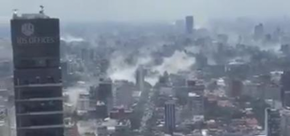 [Terremoto causa destruição e deixa pelo menos 42 mortos no México; veja vídeos]