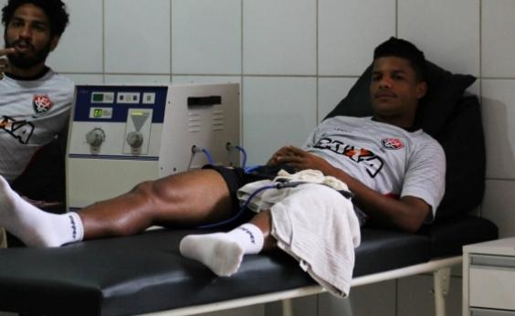 Exame detecta lesão e lateral desfalca o Vitória por 10 dias