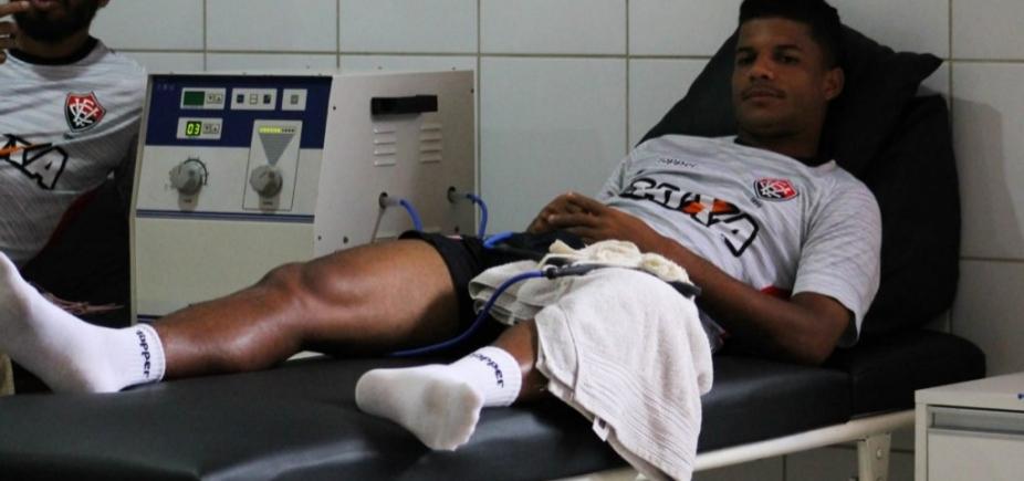 [Exame detecta lesão e lateral desfalca o Vitória por 10 dias]