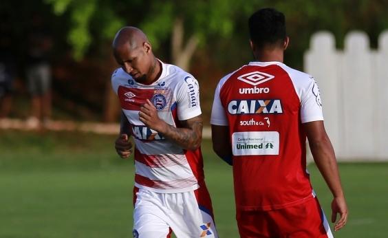 Com jogo-treino e novidade, Bahia inicia preparação para enfrentar o Grêmio