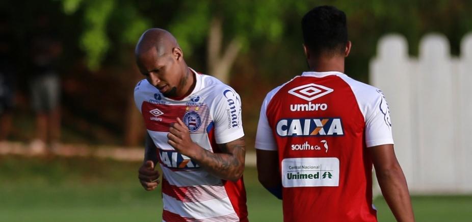 [Com jogo-treino e novidade, Bahia inicia preparação para enfrentar o Grêmio]