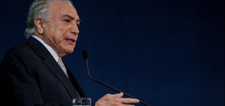 [Defesa de Temer protocola novo pedido para que Supremo que devolva denúncia à PGR]