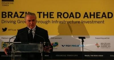 Em Nova York, Temer diz que Brasil é um destino seguro para negócios