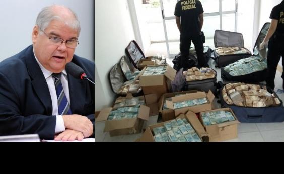 Relatório da PF diz que Lúcio tinha ciência e participação em dinheiro apreendido