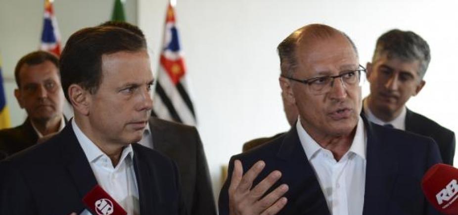 [Alckmin critica articulação de Doria para eleições de 2018: