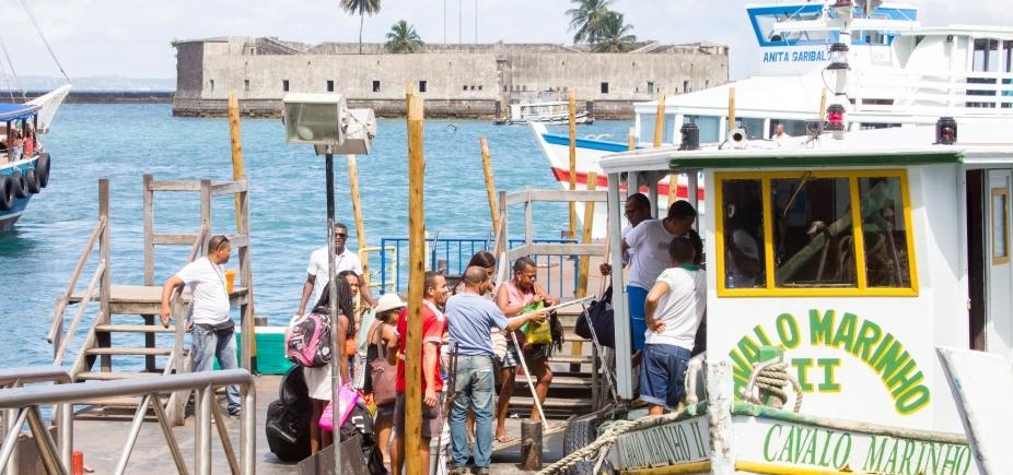 [Parada desde as 7h30, travessia Salvador-Mar Grande deve voltar a operar às 11h30]