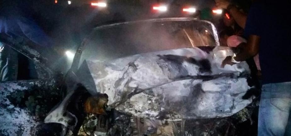 [Carros batem de frente e deixam dois mortos na BA-120, entre Coité e Retirolândia]