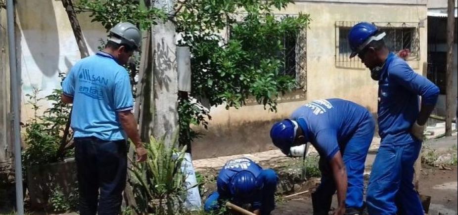 [Embasa flagra ligações irregulares em prédios em Cajazeiras; desvio era de 262 milhões de litros]