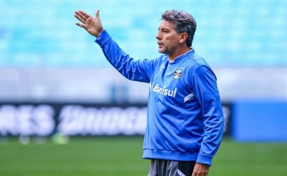 Renato Gaúcho decide poupar titulares do Grêmio contra o Bahia