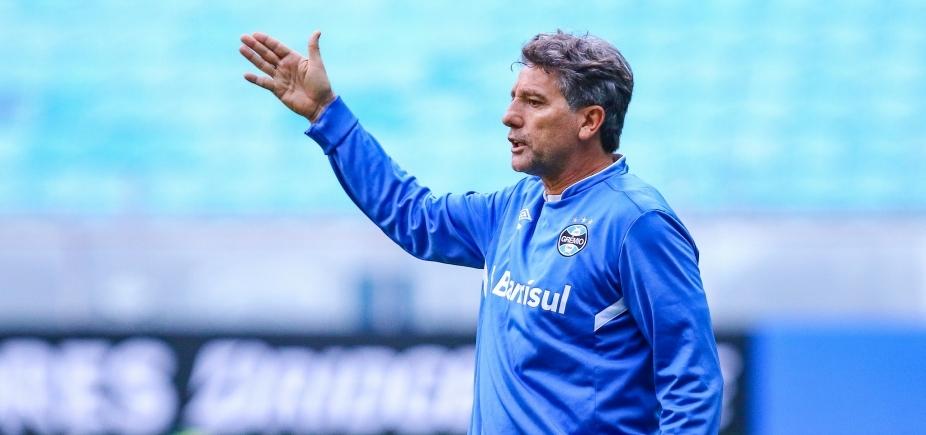 [Renato Gaúcho decide poupar titulares do Grêmio contra o Bahia]