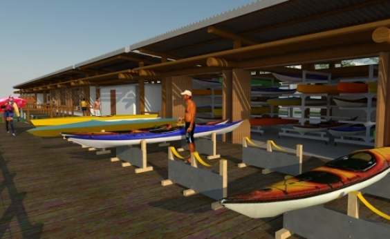 Em Ubaitaba, Rui autoriza construção do Centro de Canoagem: Investindo na juventude