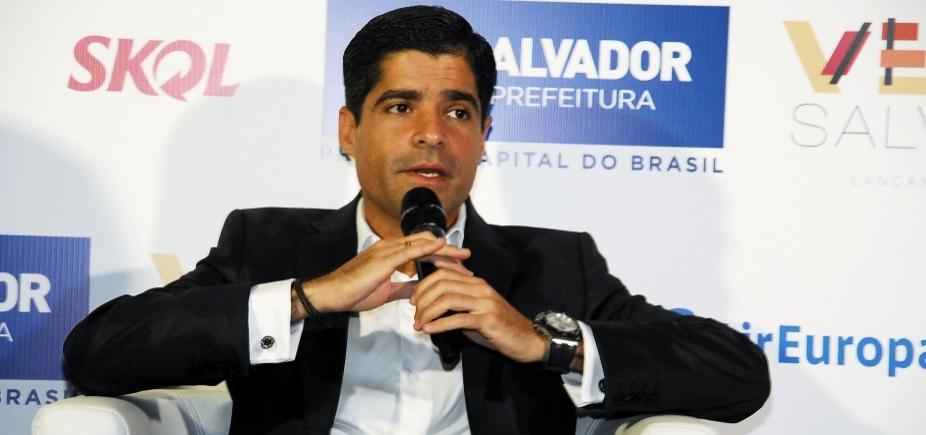 [ACM Neto, Doria e Maia discutem eleições presidenciais em jantar, diz blog ]