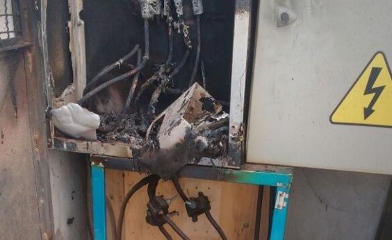 Prefeitura terá que gastar R$ 20 mil em quadro de energia após vandalismo em Patamares