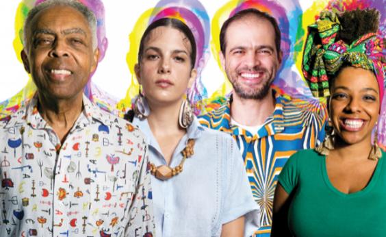 Concha recebe show de Gil em celebração aos 40 anos do disco Refavela; veja