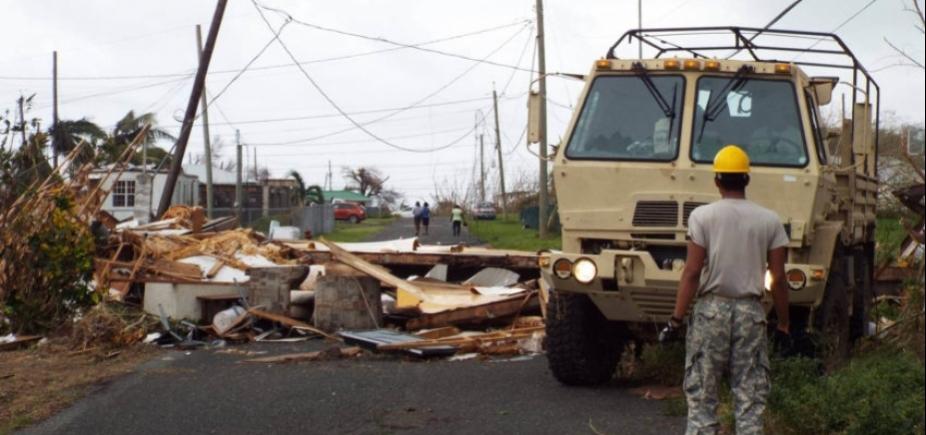 [Três brasileiros são resgatados em ilha do Caribe atingida pelo furacão Maria]